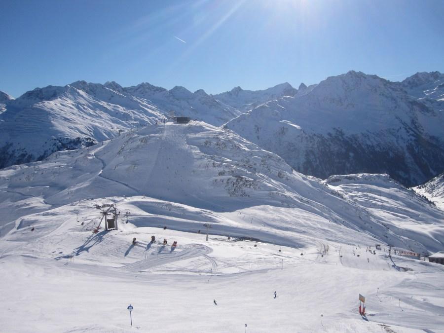 Favourite Ski Pistes in St Anton