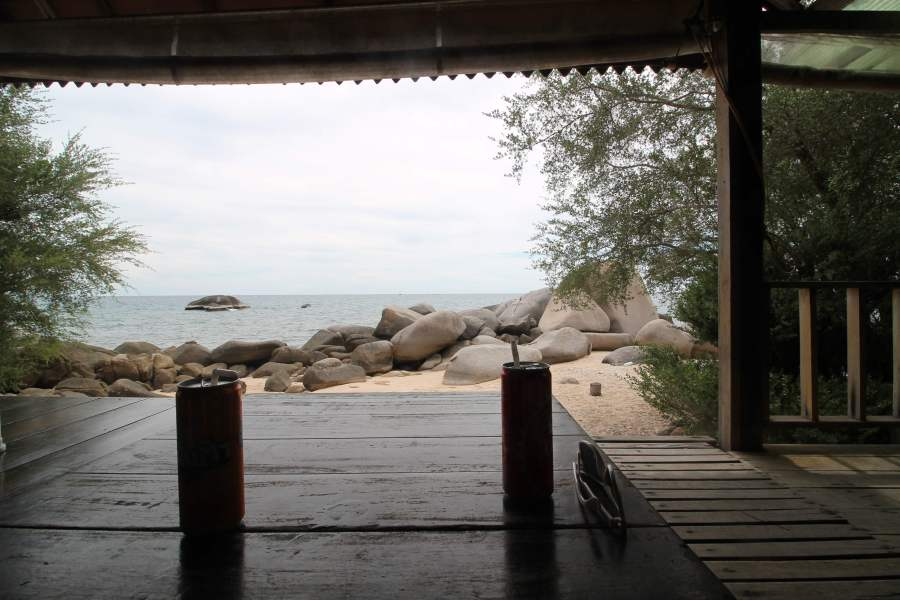 Hiking on Koh Tao with a Toddler