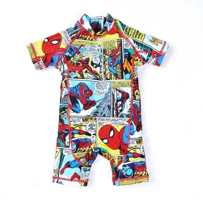 Traje de baño Spiderman Cartoon.