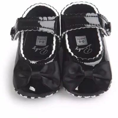 Zapatos cuero negro