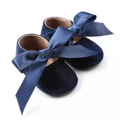 Zapatos gamuza azul