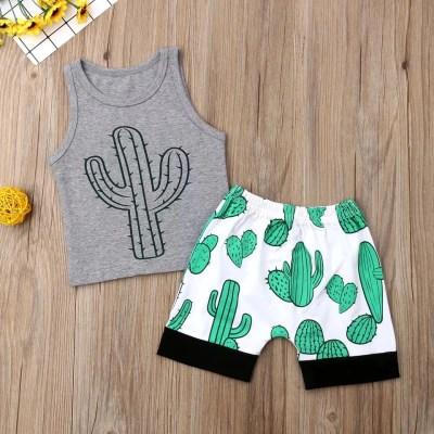 Conjunto verano cactus