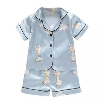 Pijama seda bebe jirafa
