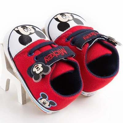 Zapatillas bebe mickey