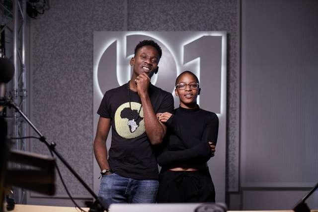 Mr. Eazi Meets Julie Adenuga On Apple Beats 1 Radio; Speaks On International Collabo's And Life