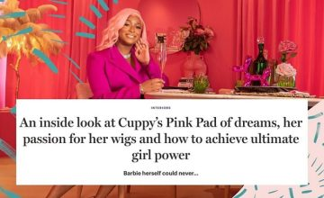 An Exclusive Look Inside Cuppy's Pink Penthouse With Glamour UK