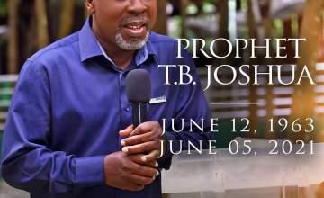 Prophet TB Joshua Ministries Confirms His Death
