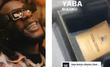 Burna Boy Receives A Grammy Wristwatch