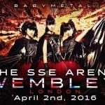 BABYMETAL ウェンブリーアリーナ(Wembley Arena)単独公演!海外の反応!