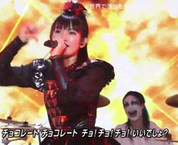 babymetal Mステ2015