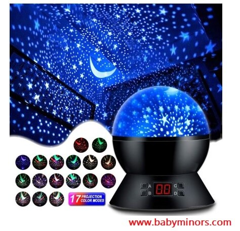 Star-Projector-Night-Lights-for-Kids-Latest Gifts Ideas For 1 Year Old Baby Girl In 2020