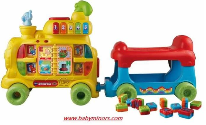 VTech-Sit-to-Stand-Alphabet-Train-Latest Gifts Ideas For 1 Year Old Baby Girl In 2020
