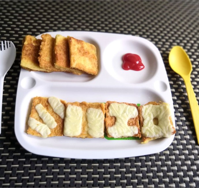 French Toast Recipe for Toddlers & Kids.
