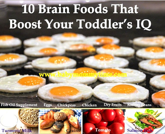 10 Brain Foods That Boost Your Toddler's IQ