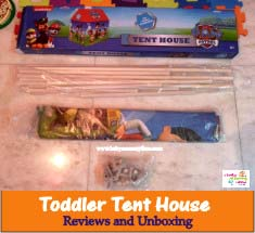 Toddler Paw Patrol Tent House Reviews and Unboxing