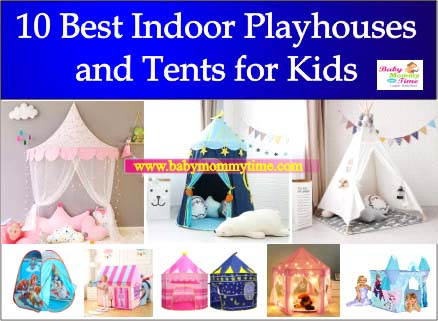 10 Best Indoor Playhouses and Tents for Kids