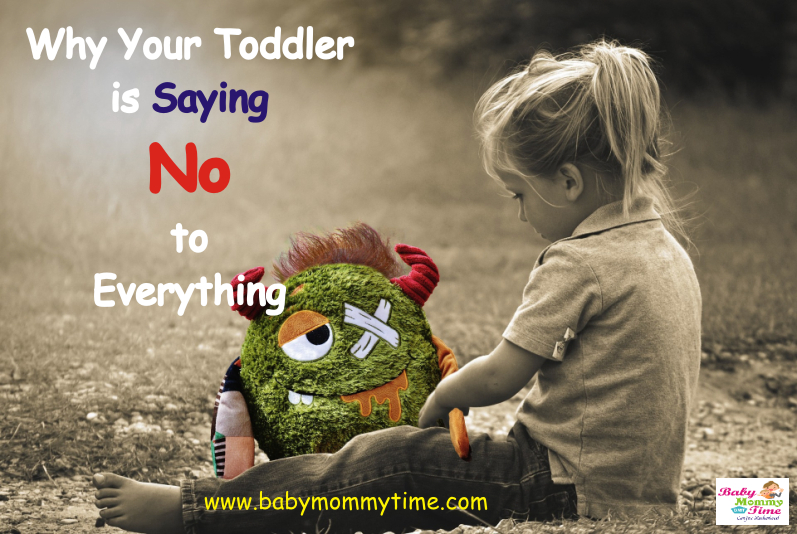Why Your Toddler is Saying No to Everything