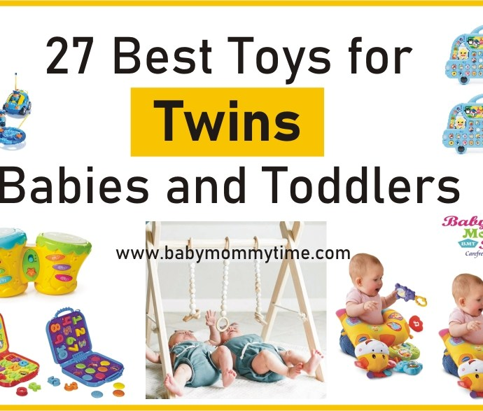 27 Best Toys for Twins Babies and Toddlers