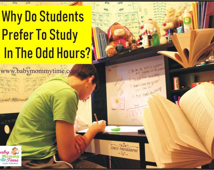 Why do Students Prefer to Study in the Odd Hours?