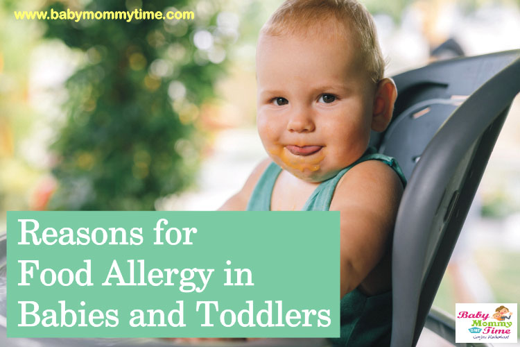 Reasons for Food Allergy in Babies and Toddlers