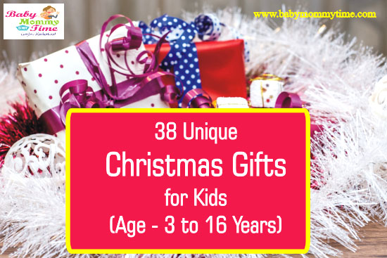 38 Unique Christmas Gifts for Kids 2020 (Age – 3 to 16 Years)