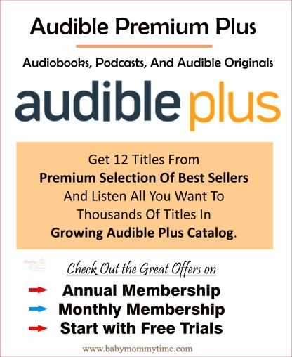 Audible Premium Plus