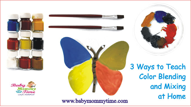 3 Ways to Teach Color Blending and Mixing at Home