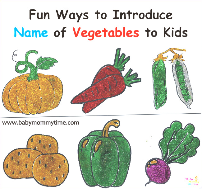 Fun Ways to Introduce Name of Vegetables to Kids