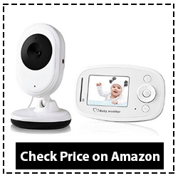 Video Baby Monitor with HD Camera Infrared Night Vision Two-way Communication 2020 Review