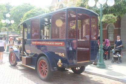 Disney Vehicle untuk berkeliling