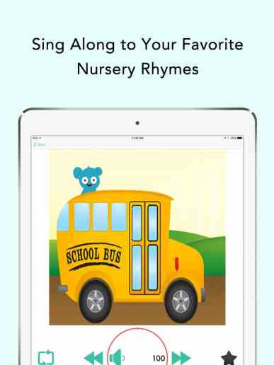 iPad Children Songs