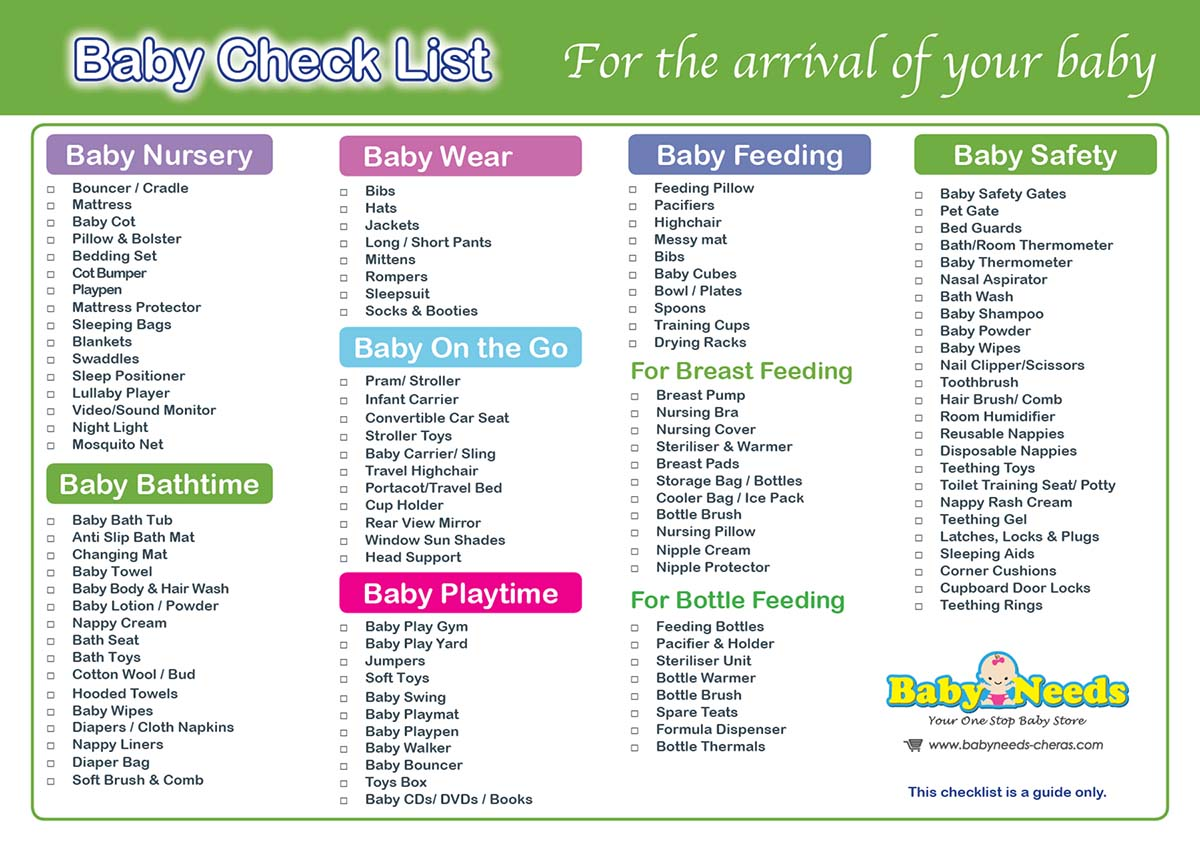 Let's figure out what you really need, not what stores want to sell you. Get a personalized baby registry checklist!