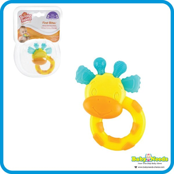 Bright Starts First Bites Stage Teethers Giraffe