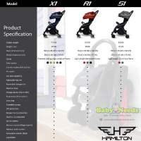 Hamilton Series R1 Magic Fold Baby Stroller Baby Needs