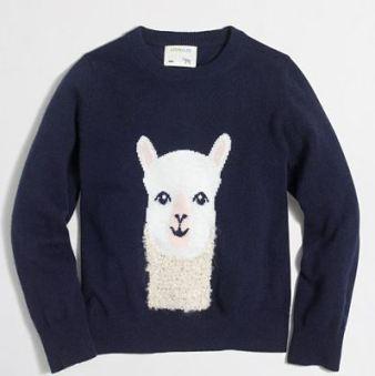 jcrew-factory-girls-llama-sweatshirt