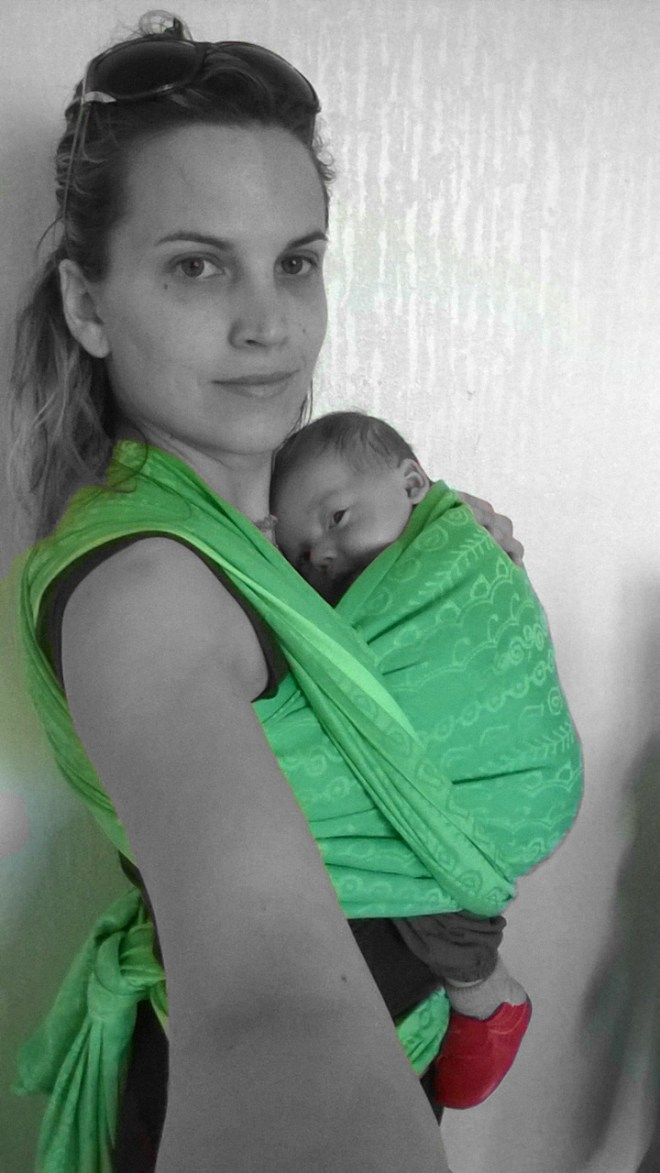 test écharpe darjeeling hoppediz baby no soucy
