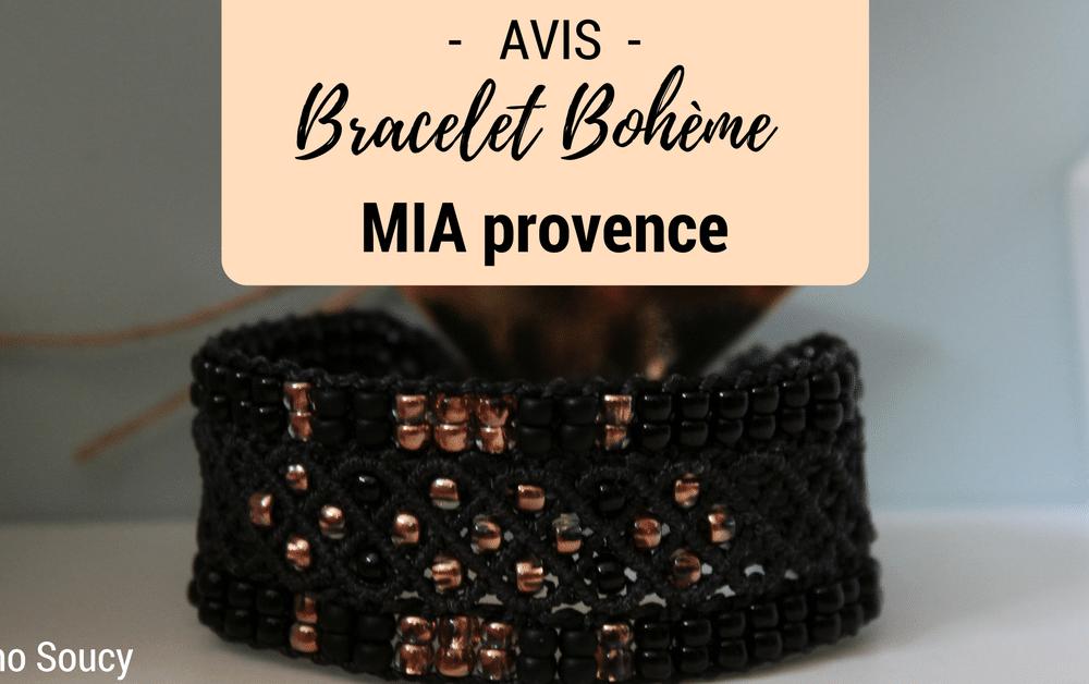 test et avis bijoux ethniques mia provence bracelet boheme noir rose gold baby no soucy