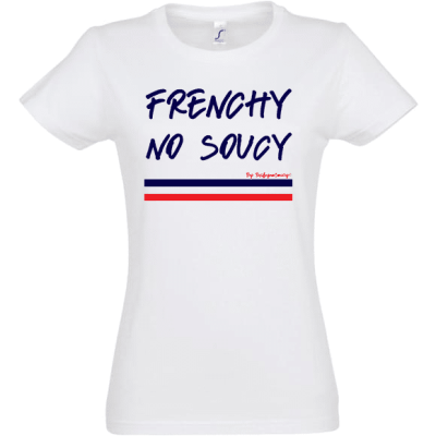 tee-shirt édition limitée frenchy no soucy by baby no soucy