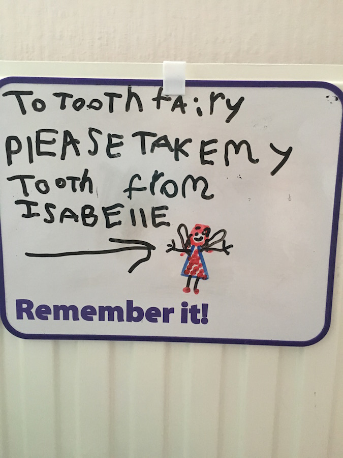 What's the going rate for the Tooth Fairy these Days