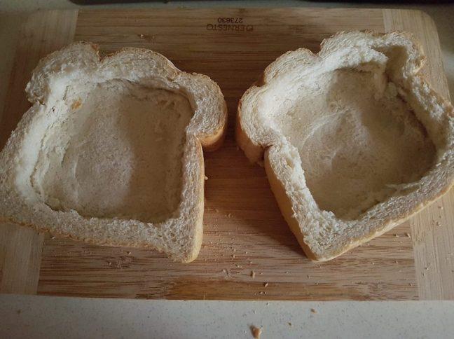 Cheesy Baked Egg Toast