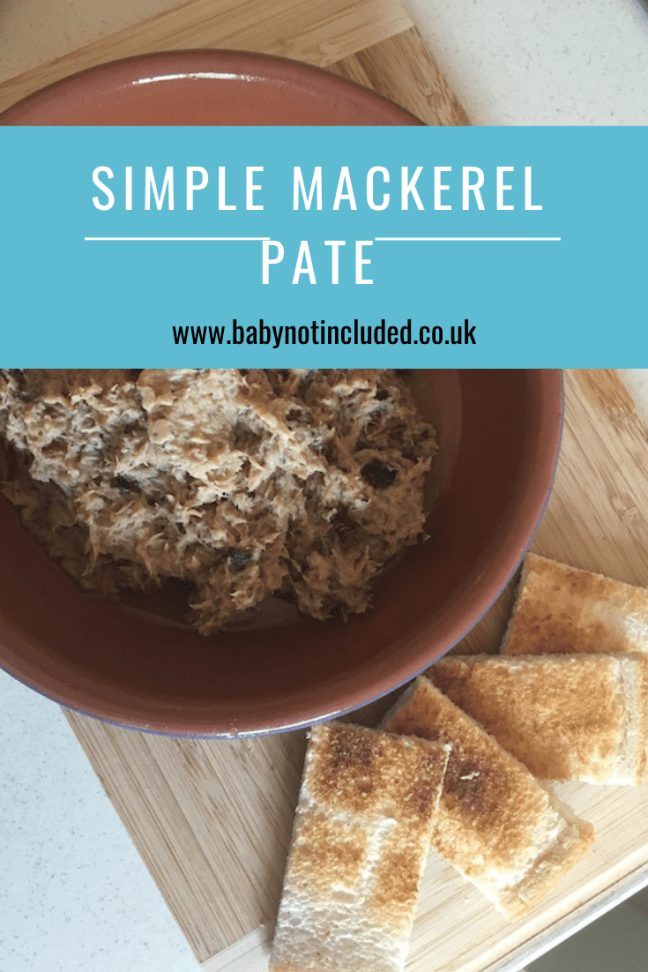 Simple Mackerel Pate Recipe