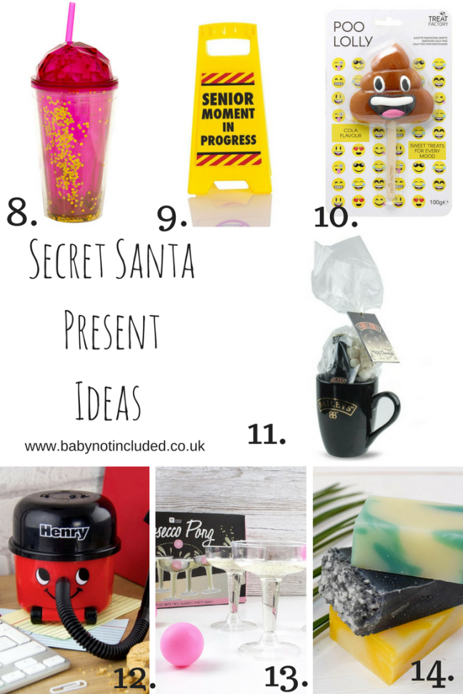 Secret Santa Present Ideas