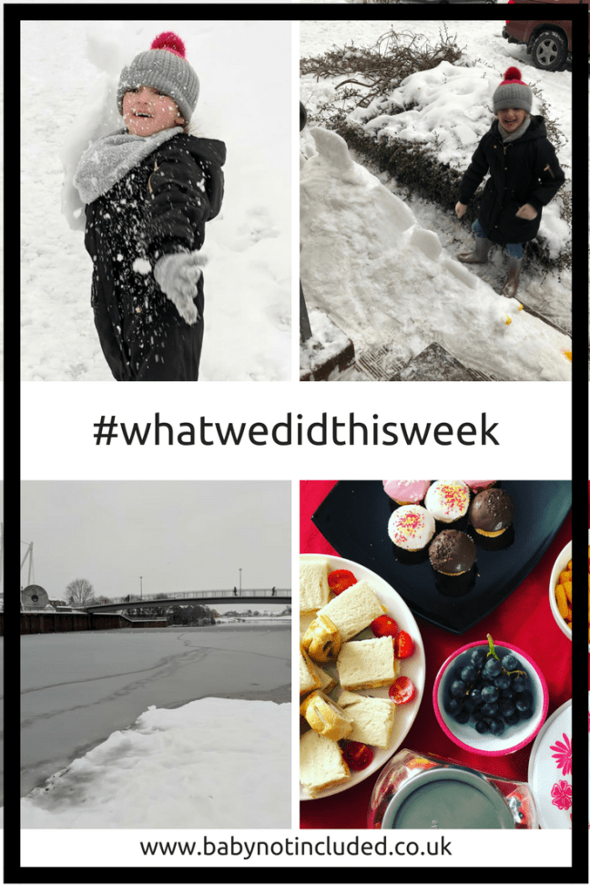 #whatwedidthisweek