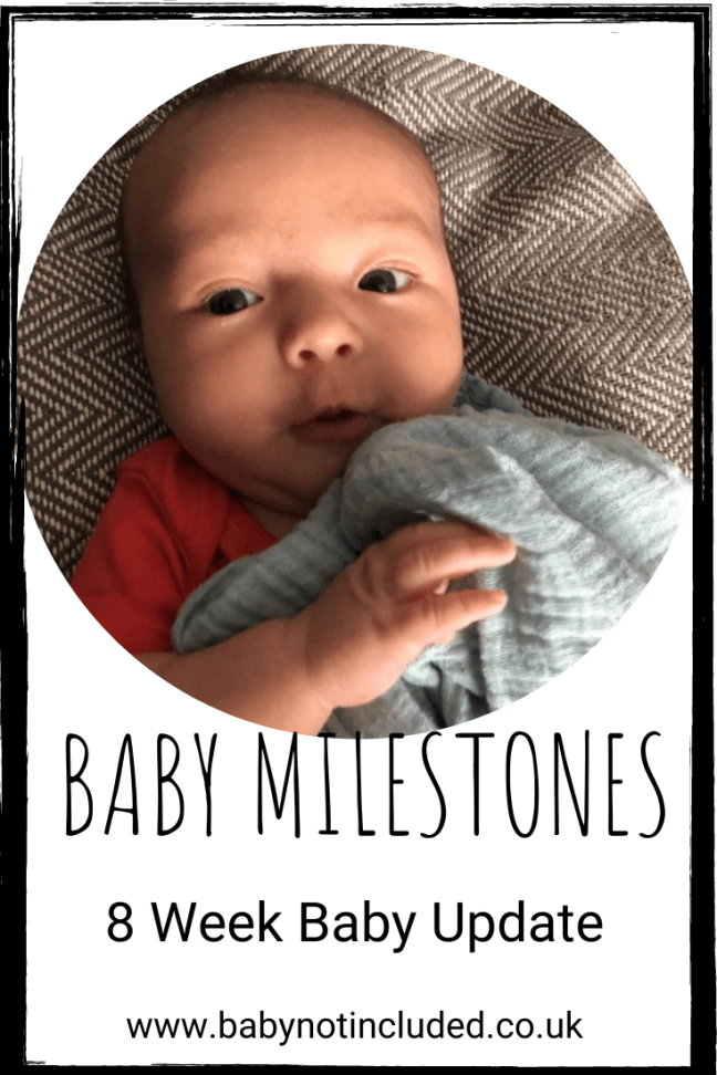Baby Milestones - 8 Weeks Old today
