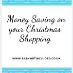 Money Saving on your Christmas Shopping