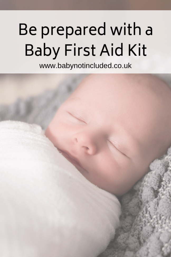 Be prepared for all Baby Ailments with a Baby First Aid Kit - As parents of three kids we've been through everything from teething to chickenpox, and we've learnt from past mistakes that it's best to be prepared for literally every common childhood illness under the sun as you're guaranteed to need something at three o'clock in the morning when it strikes!