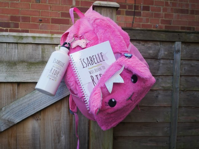 Personalised Unicorn stainless steel water bottle is great for making sure the kids stay hydrated whilst at school. It can be easily clipped onto their schoolbag and as it's personalised should be easily identifiable