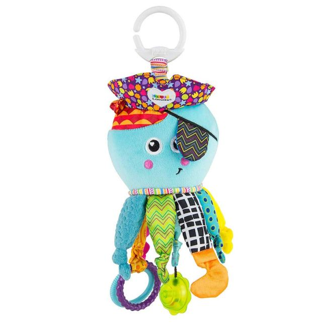 's First Christmas Gift Guide. Lamaze Captain Calamari baby sensory toy