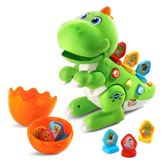 Christmas Gift Guide for 1 - 2 year olds. Vtech Learn and Dance Dino
