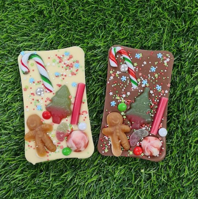 Christmas Sweet Chocolate Bar